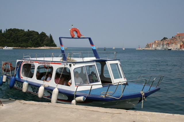 06.15 - Rovinj.03 - glass bottomed boat trip