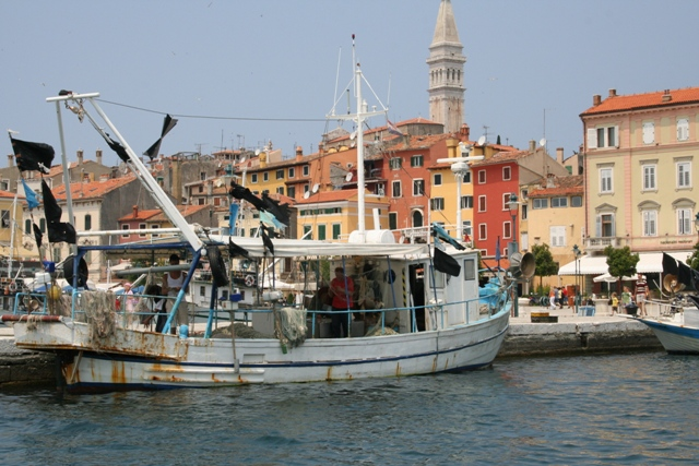 06.15 - Rovinj.06 - view from the boat