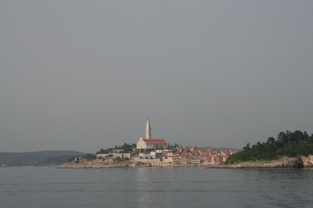 06.20 - 18 -  View of Rovinj from catamaran