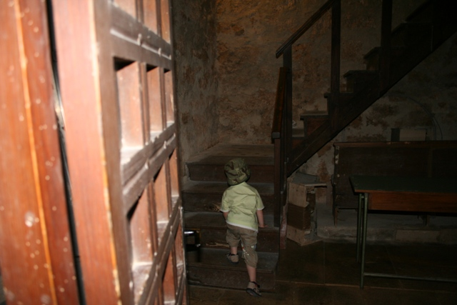 06.17 - Porec.08 - Climbing the steps of the bell tower