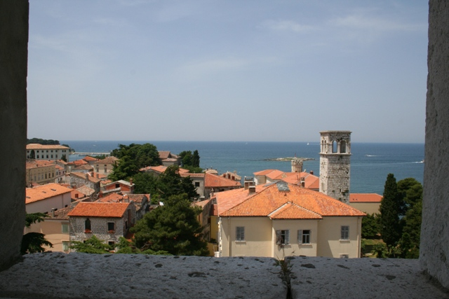 06.17 - Porec.09 - View from the bell tower