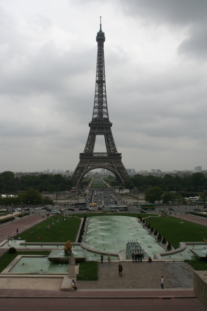 09.07 - 06 - Eiffel Tower from Trocadero