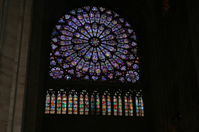 09.09 - 04 - Rose Window, Notre Dame