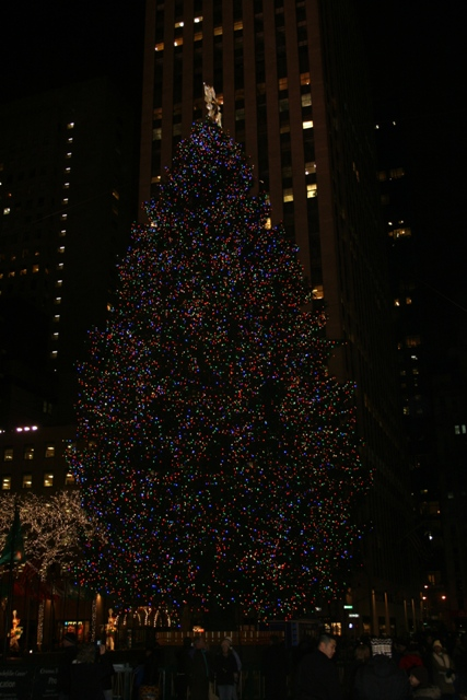 12.03.32 - Christmas tree at Rockefeller Center
