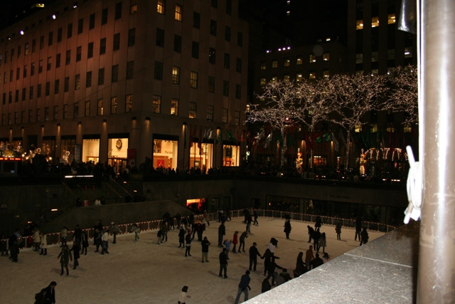 12.03.33 - Ice skating at Rockefeller Center
