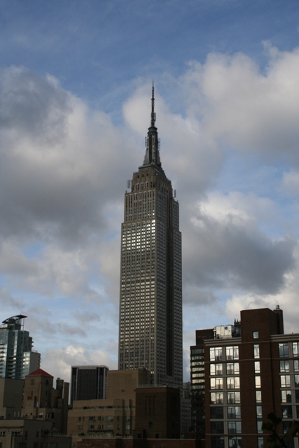 12.04.01 - View of Empire State Building from hotel roof terrace