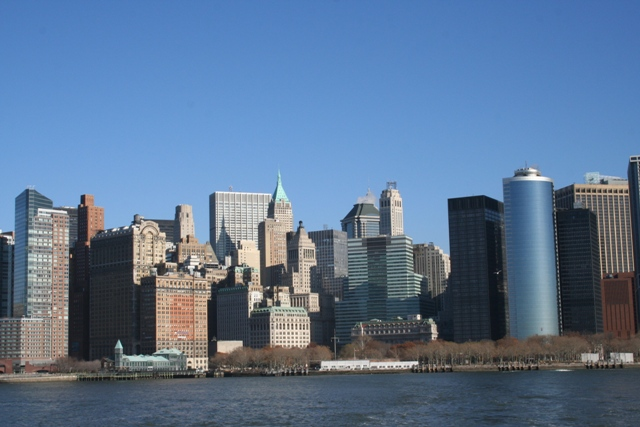 12.06.04 - Manhattan skyline from Liberty ferry