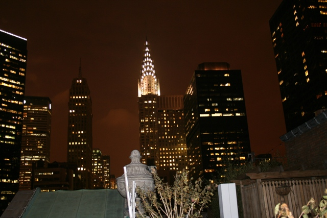 12.07.31 - Chrysler Building by night from our hotel