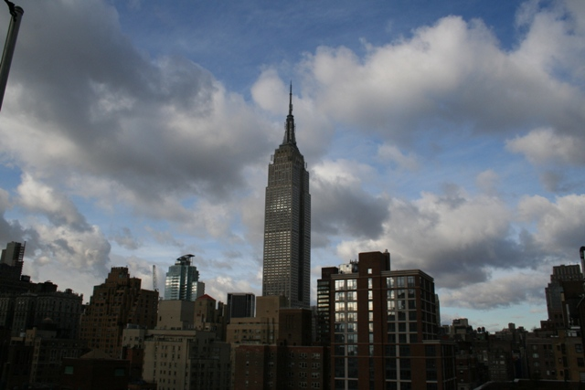 12.04.02 - View of Empire State Building from hotel roof terrace