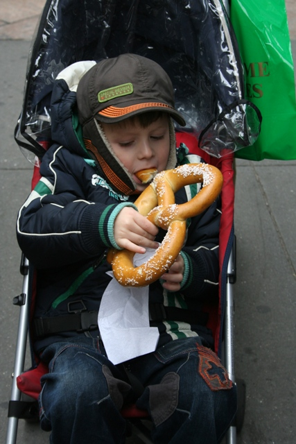 12.07.12 - New York pretzel