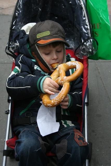 12.07.12 - New York pretzel