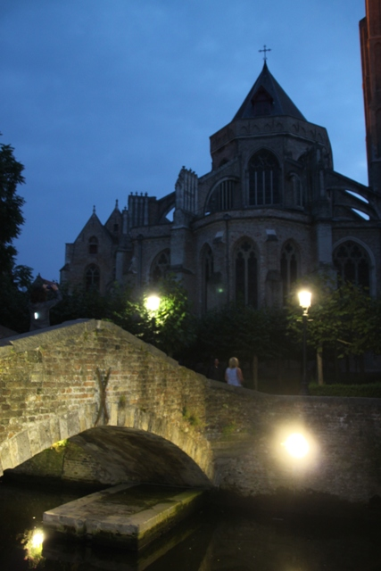 08.07.64 - Bruges by night