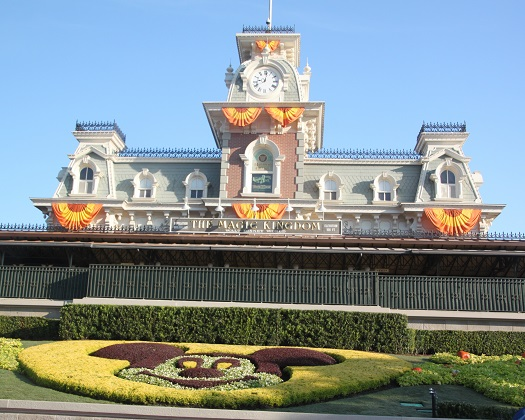 10.19.008 - Magic Kingdom entrance