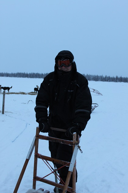 12.19.03 - Husky sledding